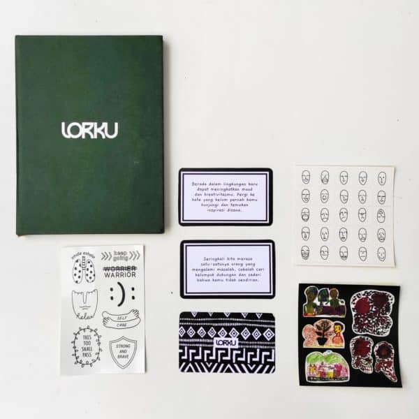 mental health journal kit